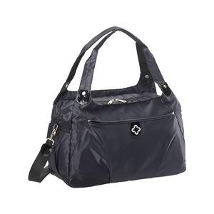 【マリクレール】 ボストンバッグ/旅行バッグ 【ブラック】 2~3泊用 ナイロン製 〔トラベル 旅 遠出〕