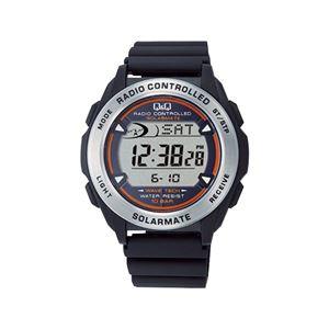 ソーラーデジタル電波腕時計 MHS7-300 - 拡大画像