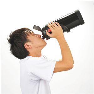 大容量 スポーツジャグ/水筒 【ブラック】 保...の紹介画像2