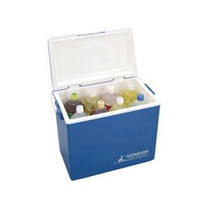 シエロ クーラーボックス/保冷ボックス 【28L】 48×30×39cm 日本製 〔バーベキュー レジャー アウトドア〕