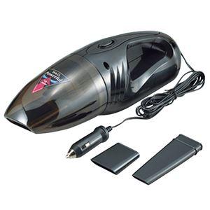 2way カークリーナー/車用掃除機 【乾湿兼用】 差込口径φ22〜24mm対応 コード長さ2.6m