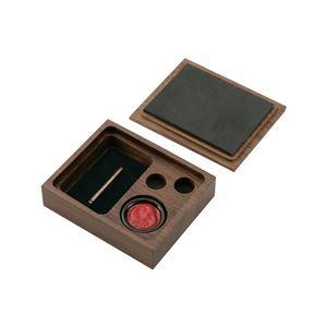 木製印鑑ケース WCH501 - 拡大画像