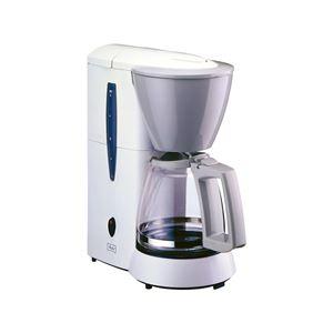 コーヒーメーカー/コーヒーマシン【5杯用】高温抽出機能バイメタル方式