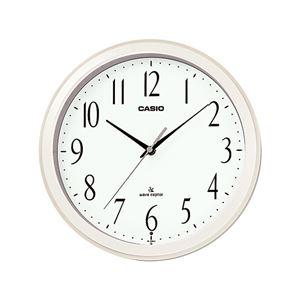 シンプル電波クロック/掛け時計【明暗判定センサー】秒針停止機能
