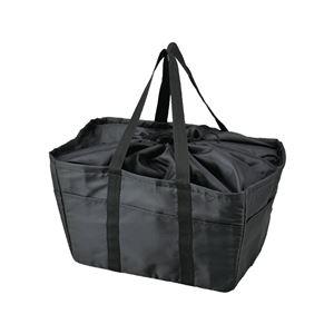 エコバッグ/買い物バッグ【33Lレジカゴ対応】保冷材用内側ポケット付き
