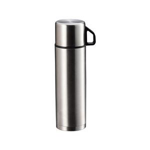 ダブルステンレスボトル/水筒【480ml】ワンタッチボタン保温・保冷対応