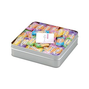 米菓詰め合わせ/ギフトセット 【合計170g】 缶入り 個包装 日本製 『感謝のきもち』 〔お中元 お歳暮 内祝い〕