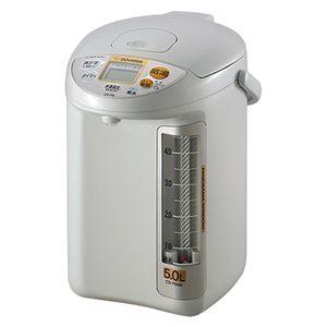 【ZOJIRUSHI】マイコン沸とう電動給湯ポット/湯沸かしポット【5L】大容量省エネ設計給水お知らせブザー
