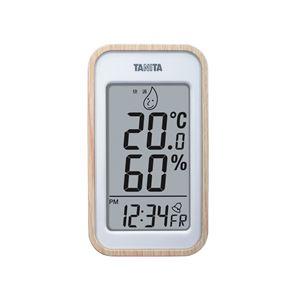 TANITAデジタル温湿度計ナチュラル100-05G
