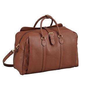 牛革ボストンバッグ/旅行鞄 【ショルダーベルト付き】 日本製 『森田鞄製作所』