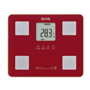 TANITA体組成計レッド185-02G