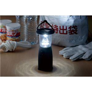 電池のいらないLEDランタン/LEDライト 【3灯・6灯2モード】 点灯切り替え可 〔キャンプ アウトドア バーベキュー 災害時〕