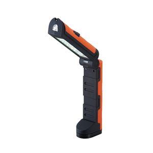 スタンドマルチライト/LEDスタンドライト 【明るさ2段階調整可】 ランタン使用可 〔アウトドア キャンプ バーベキュー 災害時〕