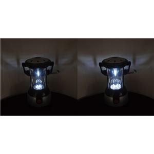 ポータブル ハンディランタンライト/照明器具 【LEDライト】 7灯・17灯切り替え 〔アウトドア キャンプ バーベキュー〕