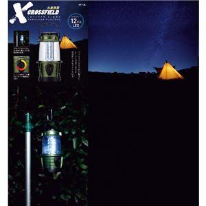 クロスフィールドランタンライト/照明器具 【電源/単3形】 光量:ダイヤル調整 〔アウトドア キャンプ バーベキュー〕