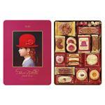 赤い帽子 クッキー詰め合わせ/ギフトセット 【ピンク】 化粧箱入り 日本製 〔お中元 お歳暮 内祝い〕の画像