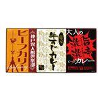 味わいカレー/レトルトカレー 【3Pセット】 ビーフカリー 牛すじカレー 激辛カレー 化粧箱入り 日本製