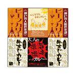 味わいカレー/レトルトカレー 【6Pセット】 ビーフカリー 牛すじカレー チキンカレー 激辛カレー 化粧箱入り 日本製