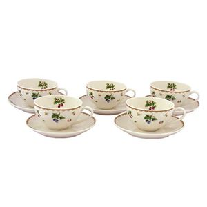 フルーツハーモニー碗皿セット208-7