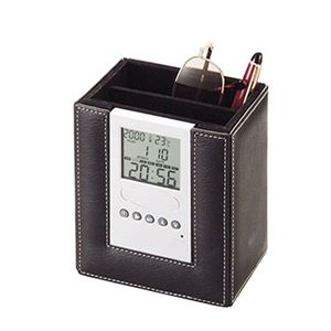 時計付リモコンスタンドBK16280