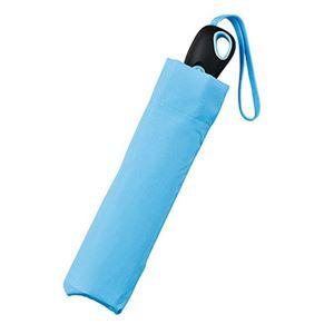 耐風式自動開閉ミニ傘 ブルー 2007