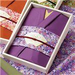 彩美きもの姿 紫 1017