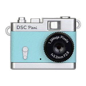 小型トイデジタルカメラ スカイブルー DSC-PIENI SB