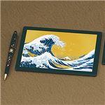 マウスパット&ペン 波に富士 15855