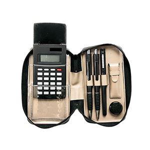 ブラック電卓付印章セット BL1500OC