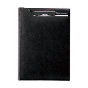 クリップファイルA4 ブラック ZVF654B