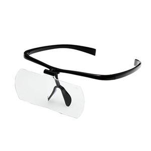 双眼メガネルーペ HF-60DBK