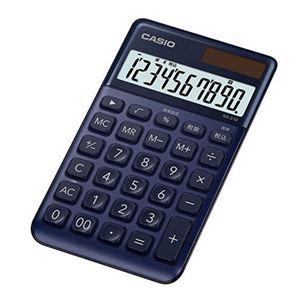 スタイリッシュ電卓手帳タイプ ネイビー NS-S10-NY-N