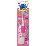 電動歯ブラシ つるんくりん ピンク 795951