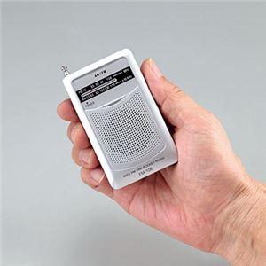 AM・FMポケットラジオ FM-108