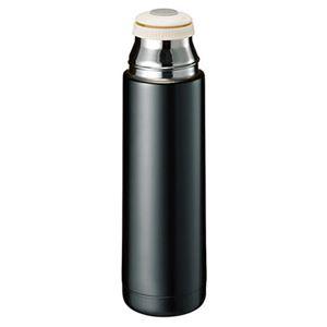 木目調カップサーモボトル ブラック TS-1369-009