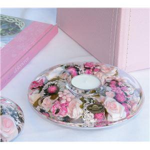 ドリームライト キャンドルホルダー・UFO リトルローズ CDD0197