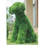 光の楽園【動物トピアリー/フェイクグリーン】68cm イヌ