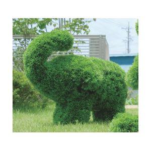 光の楽園【動物トピアリー/フェイクグリーン】50cm ゾウS
