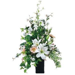 光の楽園【光触媒/人工観葉植物】82cm スタイリッシュカサブランカ