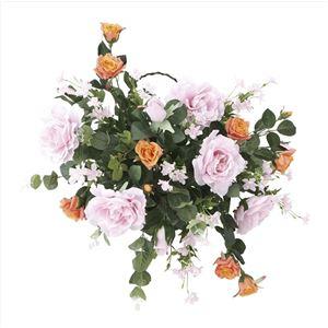 ホルムアルデヒドを除去する『光の楽園【光触媒/アートフラワー/造花】壁掛けエンジェル』