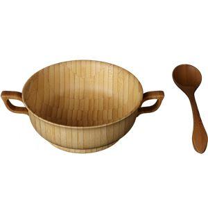 RIVERET(リヴェレット) 竹製 スープカップセット ホワイト RV-203W
