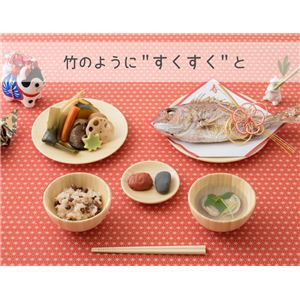 agney*(アグニー) お食い初め食器6点セット NC-001DS