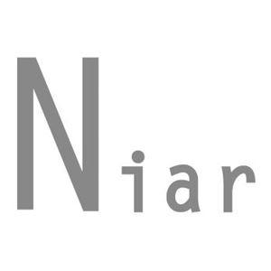 【Niar(ニアー)】プレーン レインポンチョ/グレー