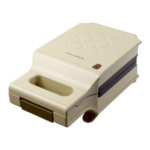 recolte(レコルト) Press Sand Maker Quilt(プレスサンドメーカー キルト)/Beige(ベージュ) RPS-1(BE) - 拡大画像