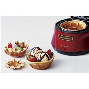 recolte(レコルト) Waffle Bowl Maker(ワッフルボウルメーカー)/Red(レッド) RWB-1(R)