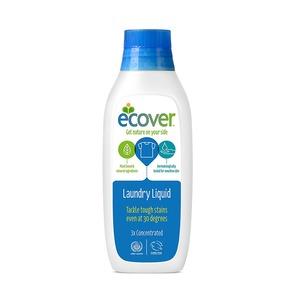 【6本セット】エコベール ランドリーリキッド濃縮タイプ 洗たく用液体洗剤 750ml