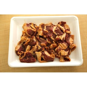 アメリカ産焼肉用タレ漬け牛カルビ(辛味噌味)1kg - 拡大画像