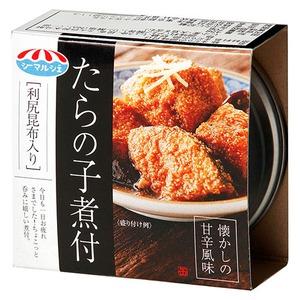たらの子煮付け/缶詰【24缶】缶切り不要利尻昆布入り〔お弁当おつまみご飯のおとも〕
