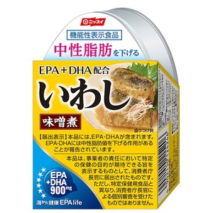 EPA・DHA配合 いわし味噌煮24缶