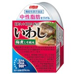 【EPA・DHA配合】 いわし梅煮しそ風味/いわし缶詰 【48缶】 機能性表示食品 中性脂肪を下げる